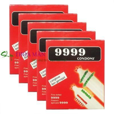 Bao cao su 9999(10 hộp)