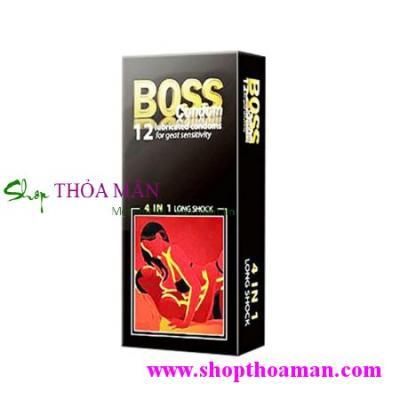 Bao cao su Boss 4 in 1(3 Hộp)