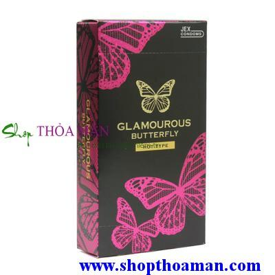 Bao cao su Jex Glamcurous Butterfly hot 1000-hộp 12c