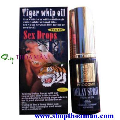 Chai Xịt Tiger Delay Spray