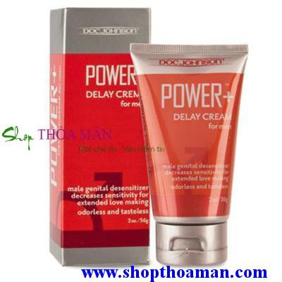 Chống xuất tinh sớm Power Delay Cream