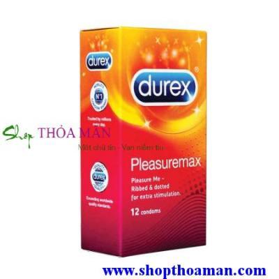 3 Hộp Bao Cao Su Durex Pleasuremax có gai