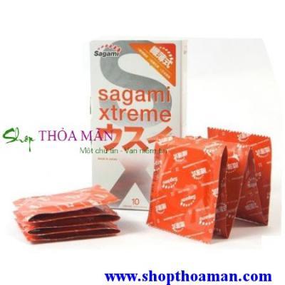 3 hộp Sagami Xtreme Super Thin