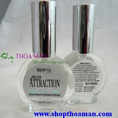 Nước hoa kích dục nữ Healthy Attraction