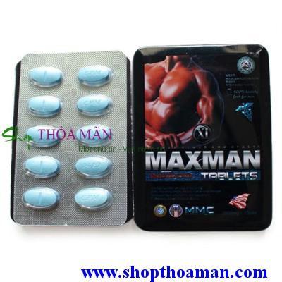 thuốc tăng cường sinh lý Maxman